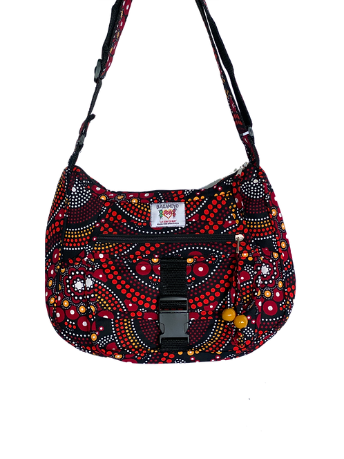 Kitenge 42 MoonShaped Special Bag