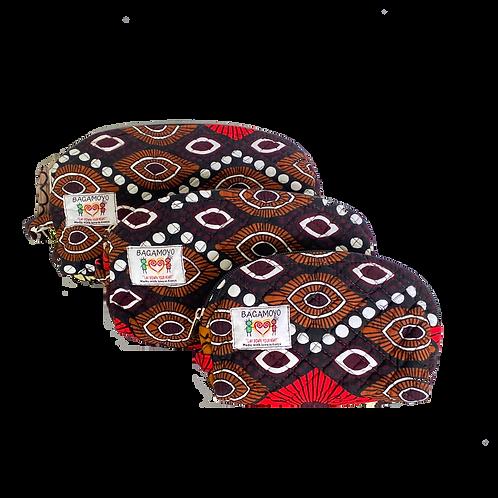 Kitenge 43 Cosmetics Bag