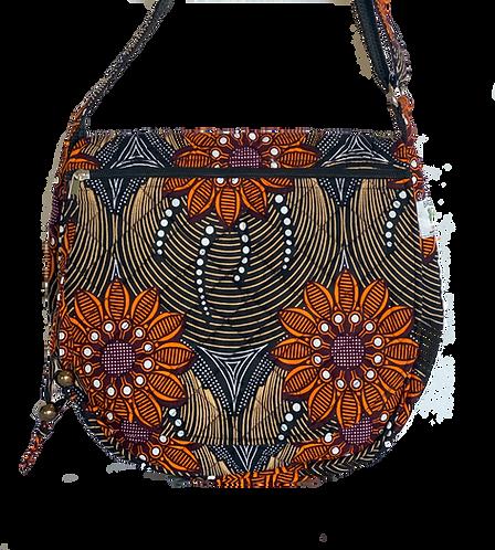 Kitenge 44 Saddle Bag