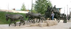 Blair  Bronze Wagon, full view - cropped 2