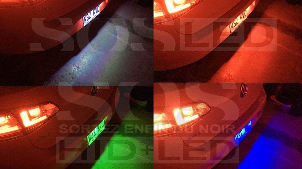 T10 RGB Haute Puissance