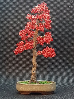 red copper wire tree
