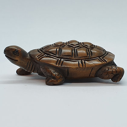 Boxwood netsuke - Turtle