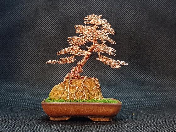 Copper on rock 8cm
