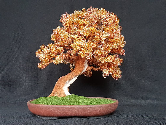 THREE TONE COPPER WIRE TREE