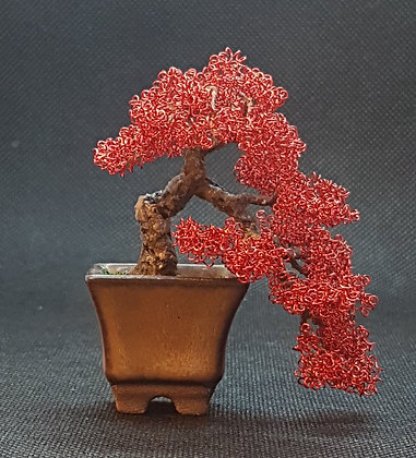 Red copper cacade style