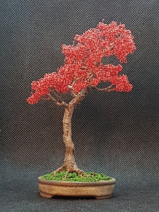 Red Copper with coated trunk 14cm
