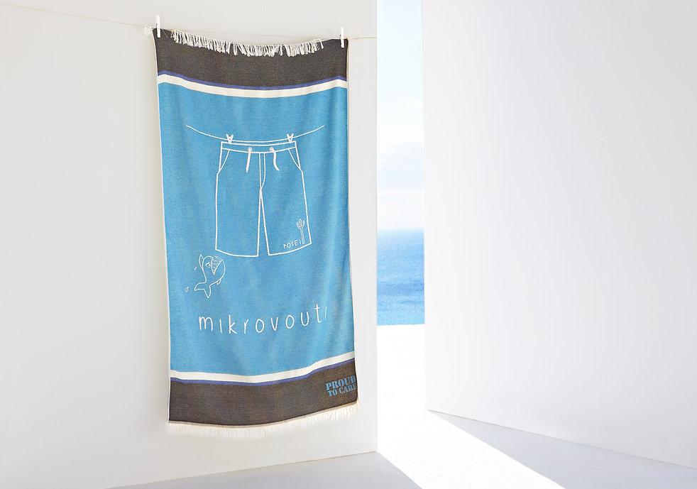 Posei_sky_blue_beach_towel