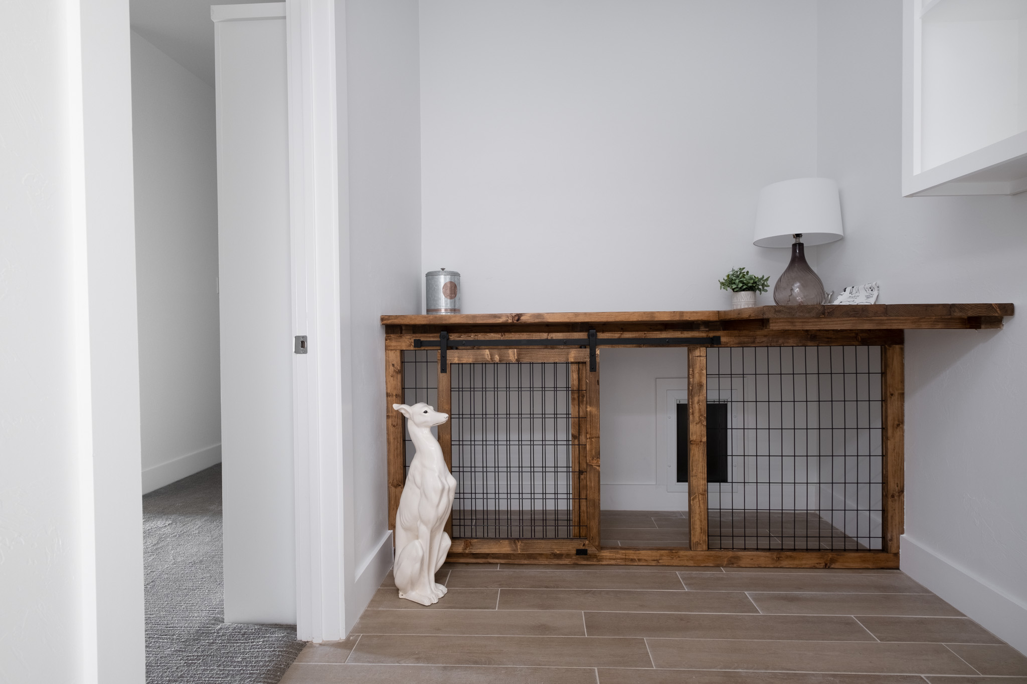Dog Kennel With Doggy Door