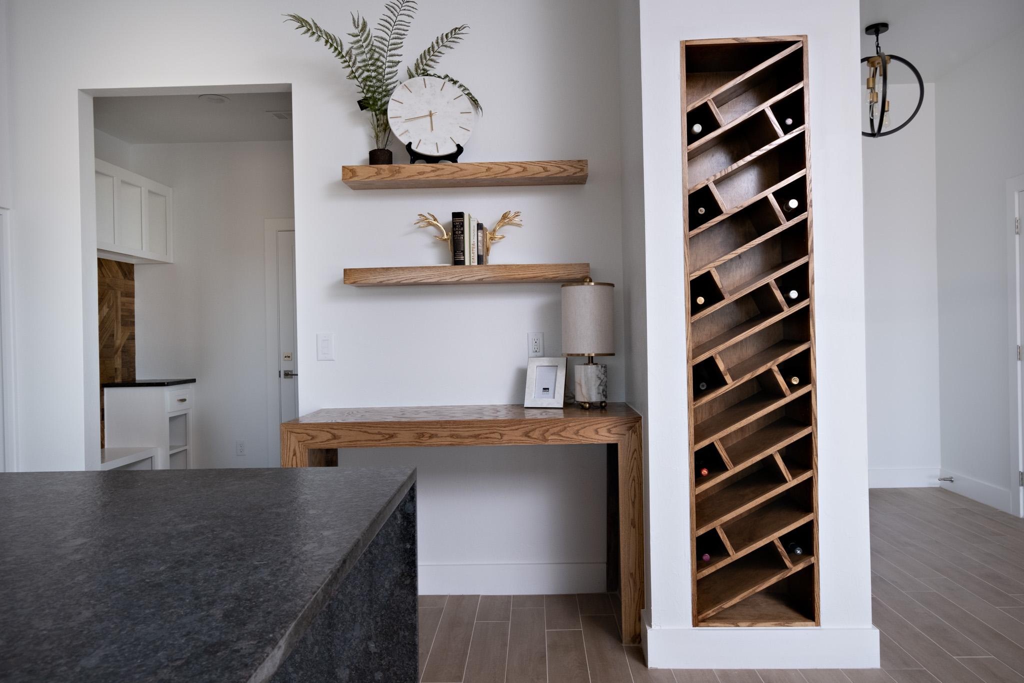 Wine Rack & Desk
