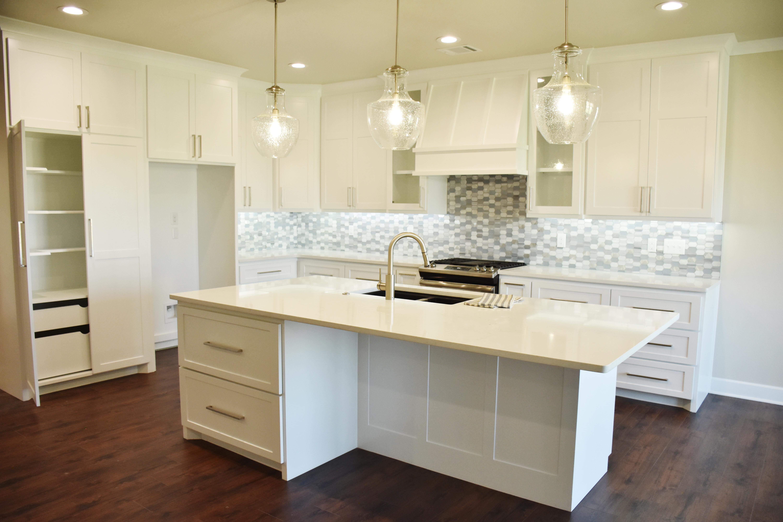 Kitchen Showing Large Pantry