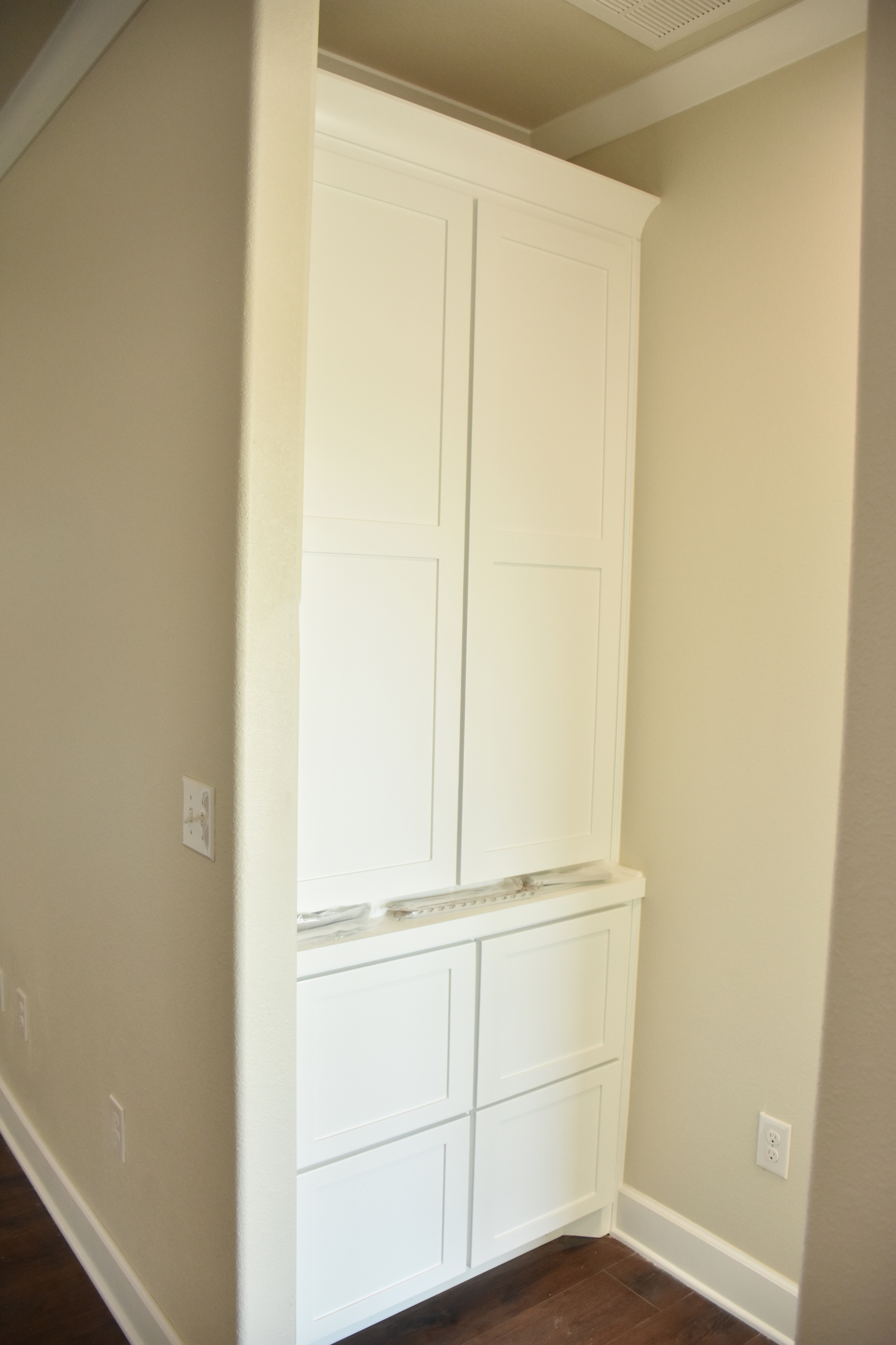 Built in by Master Bedroom