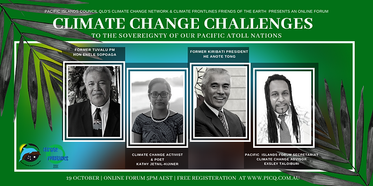 Event cover-climate change network (onli
