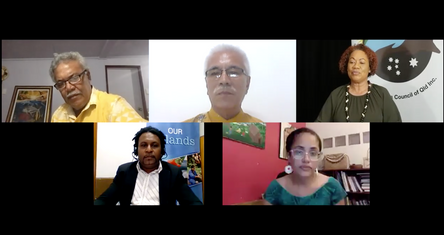 PICQ's Climate Change Network's online forum 2020 with Pacific International Leaders