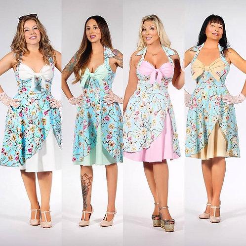 Floral Vintage dress   $50 donation