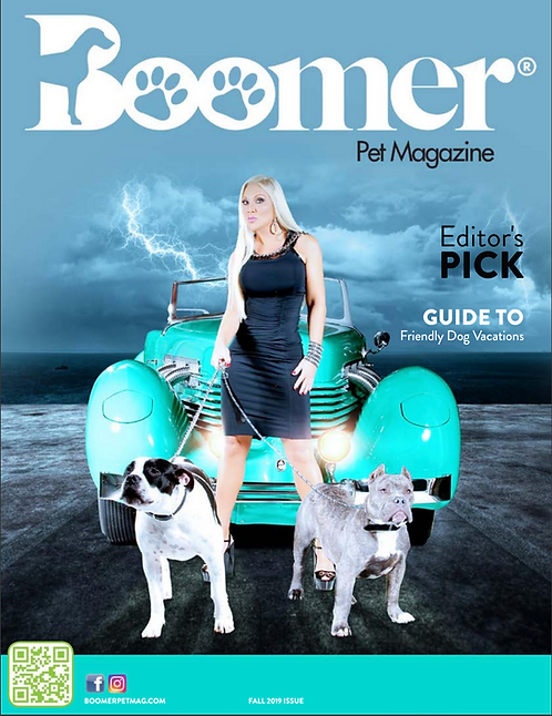 BOOMER MAGAZINE COVER