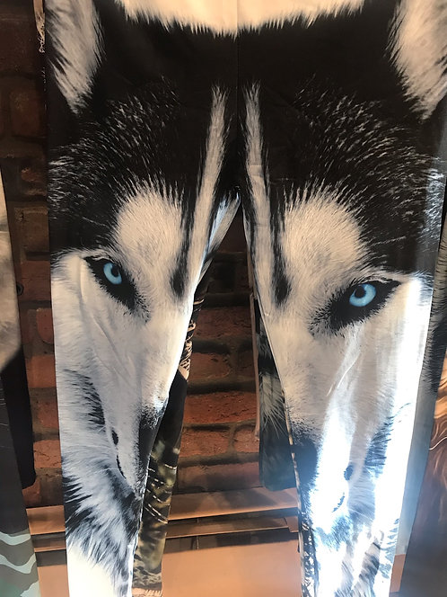 SIBERIAN HUSKY Leggings $95 donation
