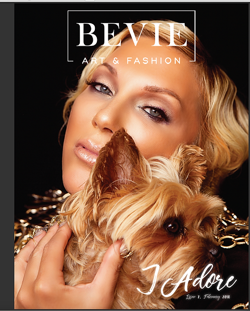 BEVIE Fashion Magazine FEB 2018 J'ADORE Edition.    $50 donation