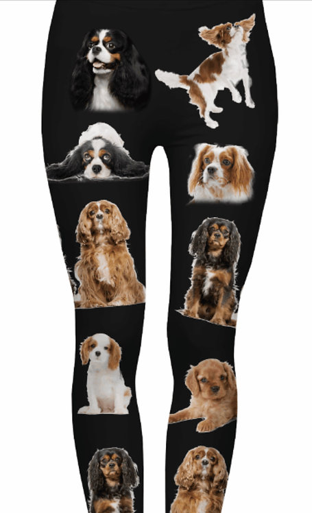 KINGS CHARLES Leggings $95 Donation