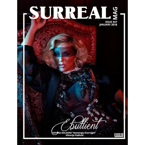 Surreal Fashion/Beauty Magazine Jan 2018 $50 donation