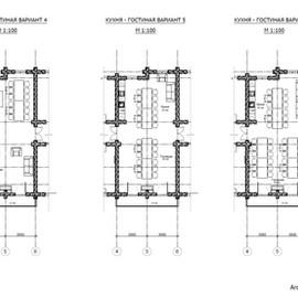 Планировочное решение 1 этажа вариант трансформации