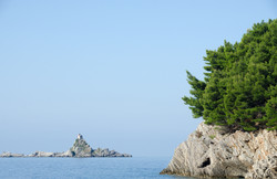 Sveta Nedjelja Island off Petrovac