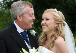 Bride and proud Father