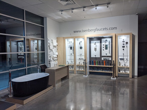 Showroom Feature: Isenberg Faucets