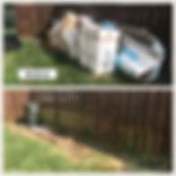 Backyard junk removal Aquia Harbour, VA 22554 VetsHaulJunk.com (540)67-VETS