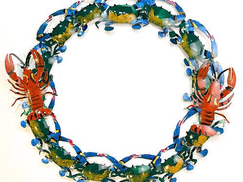 Crab and Crawfish Wreath