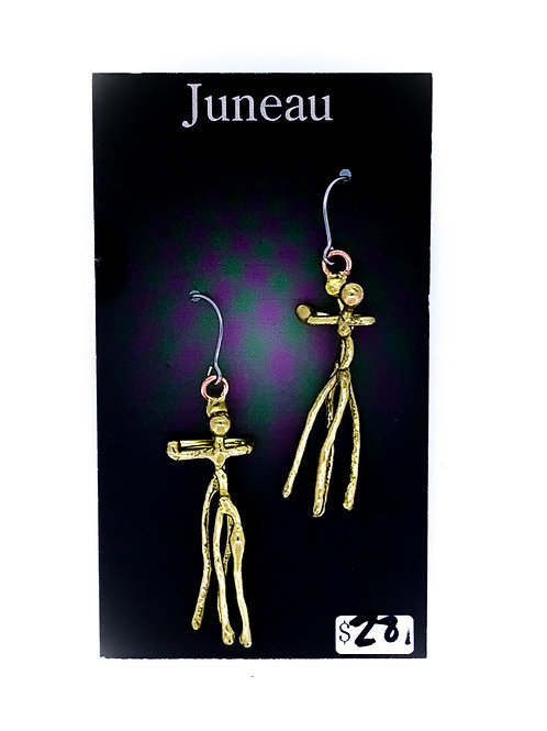 Dancing People Earrings