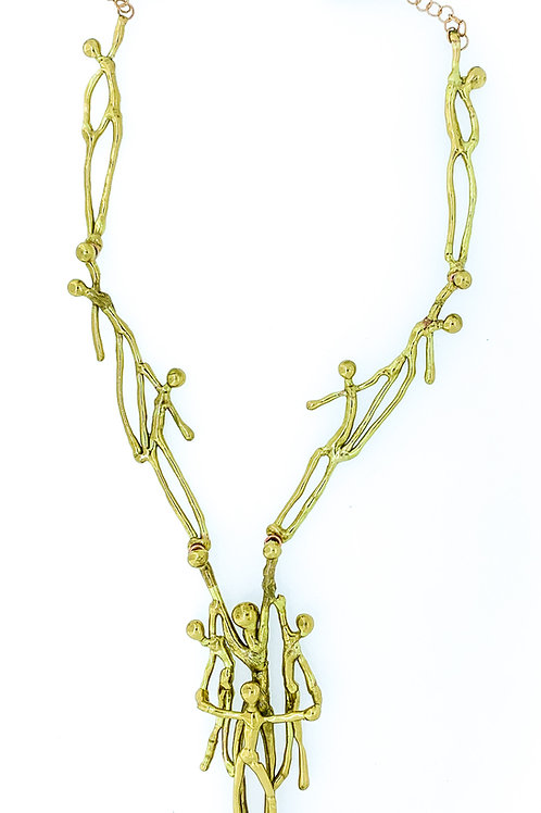 Long People Necklace