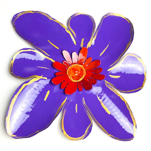 Violet Flower - 16 inches
