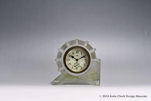 TOKYO CLOCK 透明ガラス 歯車 アヒル