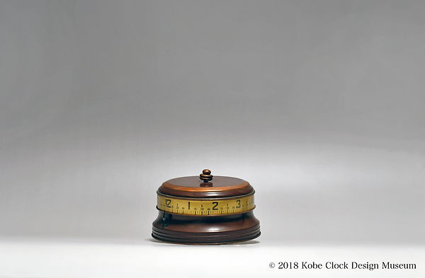 COLONIAL DESK CLOCK 円型 横時表示 USA