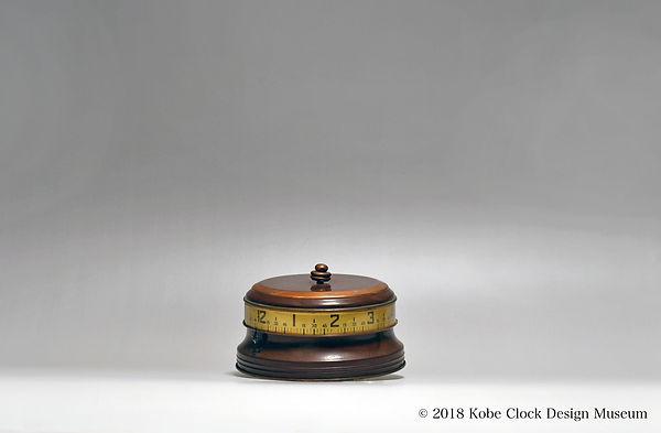 COLONIAL DESK CLOCK 円型 横時表示 USA