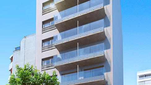 Monoambientes - Edificio Infinity Buxareo y 26, Pocitos