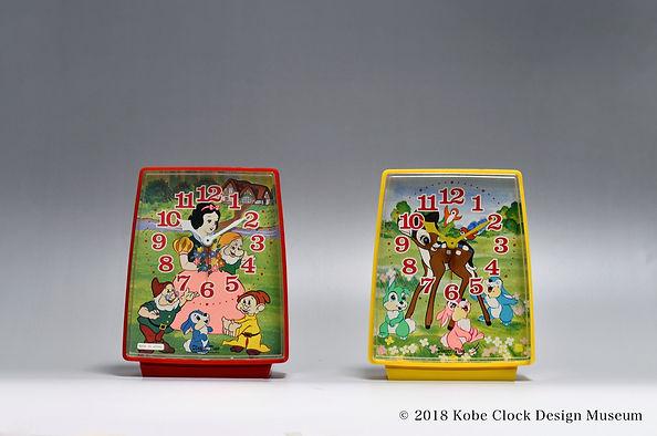 Disney Time FD702 白雪姫 バンビ