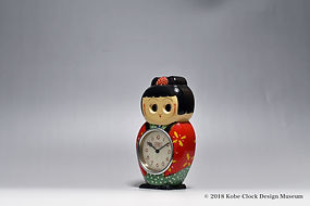 TEZUKA CLOCK Poppo こけし