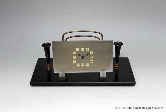 状差し ペン立て 時計