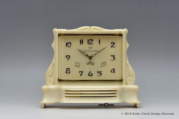 TOKYO CLOCK 音符 840 ボルガの舟唄 Music Clock