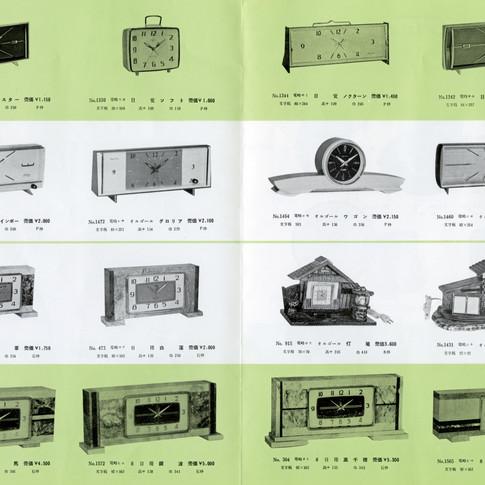 東京時計製造 Catalogue No.15 3月新製品 1