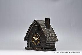 TEZUKA CLOCK Poppo 山小屋の鳥 時30分打