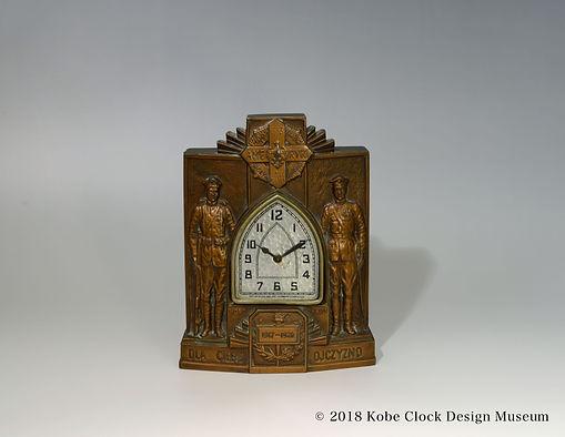 LUX CLOCK HONOR CHWILI 1917-1920 OJCZYZNO