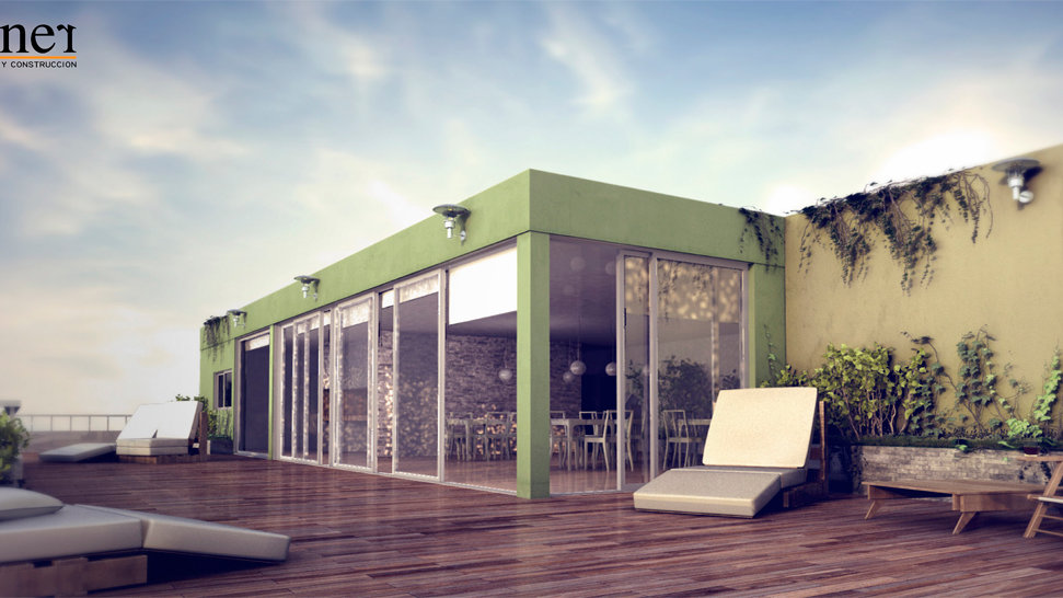 Penthouse 1 dormitorio - Edificio Mandalay, Pocitos