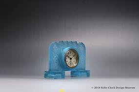 TOYO CLOX 薄青摺りガラス 衝立
