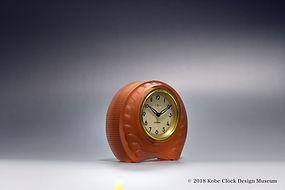 SEIKOSHA 橙ガラス 丸ア-ルデコ f