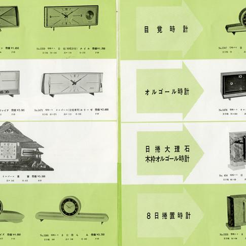 東京時計製造 Catalogue No.15 3月新製品 2