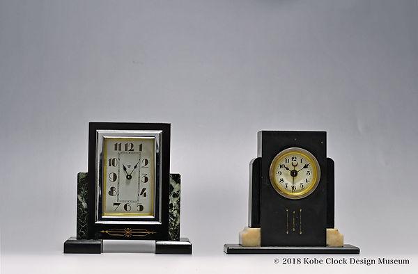 TOKYO CLOCK 大理石  SEIKOSHA 黒石