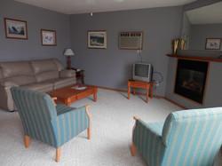 Creekside Cabin Living Room